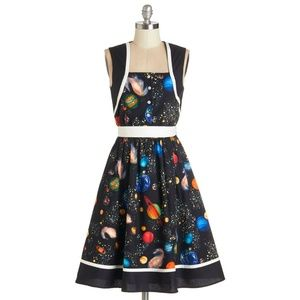 MODCLOTH BEA & DOT Planet Solar System Dress Plus